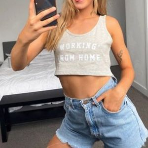 Outrageous Fortune Working From Home Tee